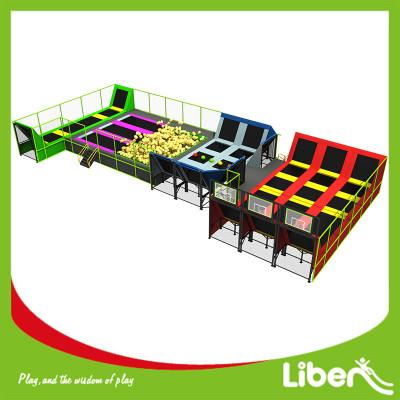 Multi Color Special Design Indoor Trampoline Park Kids