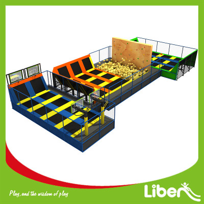 Foam Pit Commercial Indoor Trampoline Park Skyzone