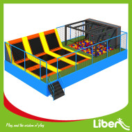 Outdoor Kids Big Rectangular Trampoline Park