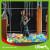 Outdoor Kids Big Rectangular Trampoline Park