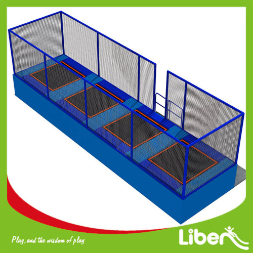 With Enclosure Outdoor Bungee Jumping Trampoline