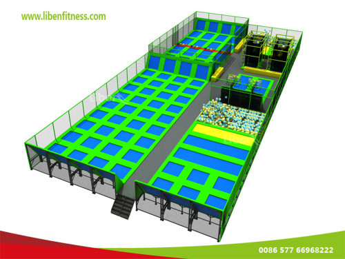 How many indoor trampoline parks in Austin Texas, USA?