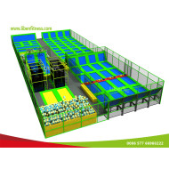 China trampoline park manufacturer to build indoor commercial trampoline park