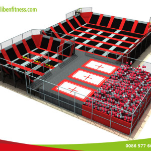 Marketing strategies for indoor kids trampoline playground park