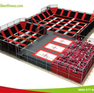 Marketing strategies for indoor kids trampoline playground park