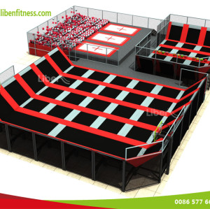 WHO is China best indoor trampoline park BUILDER--LIBEN GROUP