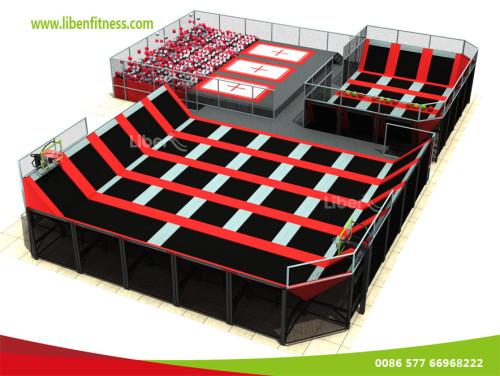 WHO is China best indoor trampoline park BUILDER--LIBEN GROUP