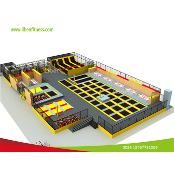 best indoor trampoline park project in Las Vegas,USA--built by LIBEN GROUP