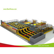 First indoor trampoline park project in Las Vegas,USA--built by LIBEN GROUP