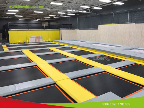 What we can play in Xplozone Trampoline Park?