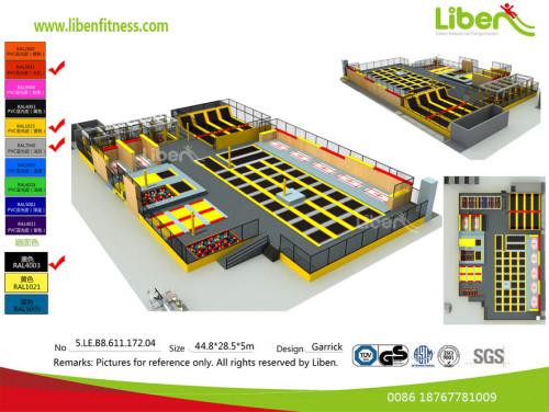 Do Liben have Trampoline Park project in Las Vegas,USA?