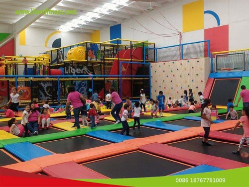 how much for the tickets for trampoline park in Mexico?