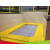 How do trampoline parks achieve rapid profitability?
