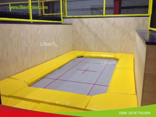How do trampoline parks achieve rapid profitability?