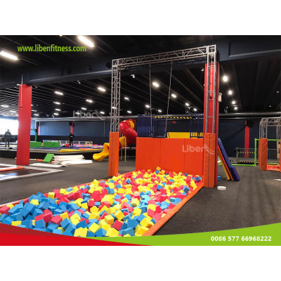 Promotional strategy for indoor trampoline park center