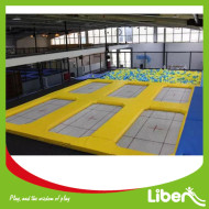 I want build indoor trampoline place jumping trampoline park