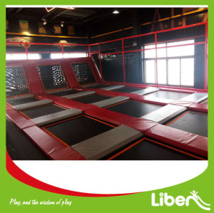 Producer indoor trampoline court building indoor trampoline location