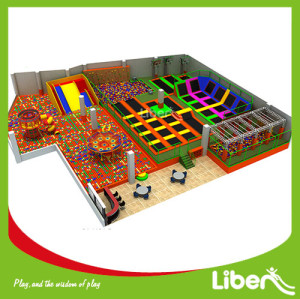 1000 Square Meters Indoor Trampoline Park Supplier