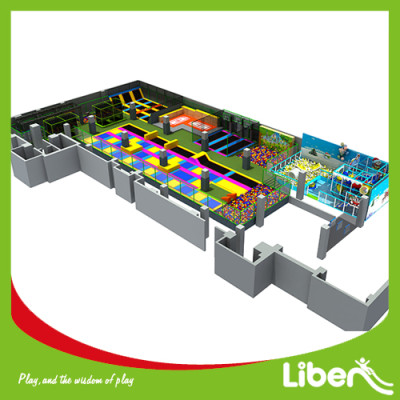 1300 Square Meters Indoor Trampoline Park Builder