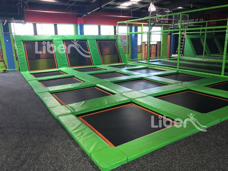 indoor trampoline builder