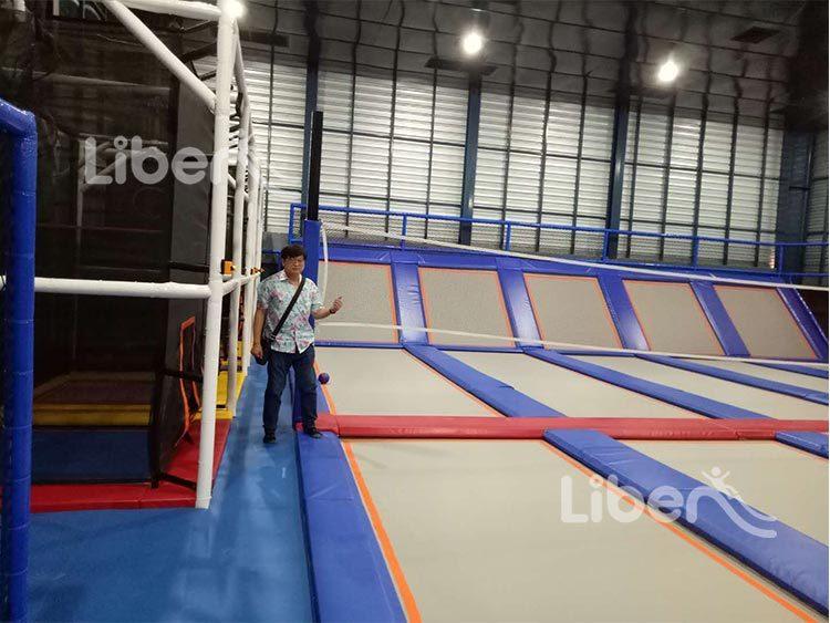 indoor trampoline builder