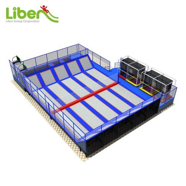 Super Fun Trampoline Park with Badminton Court