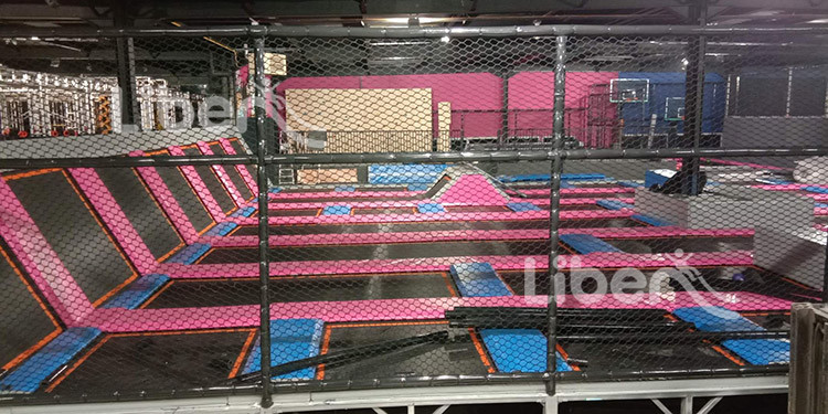 hot trampoline park builder
