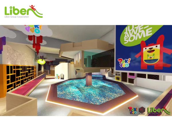 Custom Colorful Large Commercial Indoor Trampoline Park