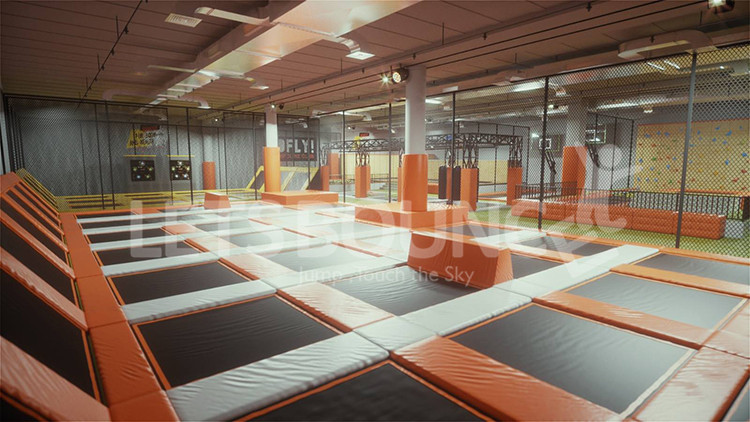 kids trampoline indoor