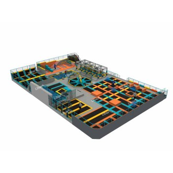 Liben High Quality Trampoline Theme Park