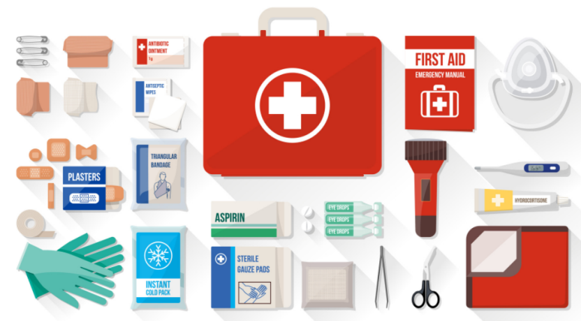 First Aid Kit Checklist for trampoline park