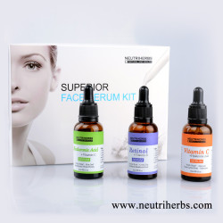Neutriherbs Kit Superior Serum Face Para Lifting Face
