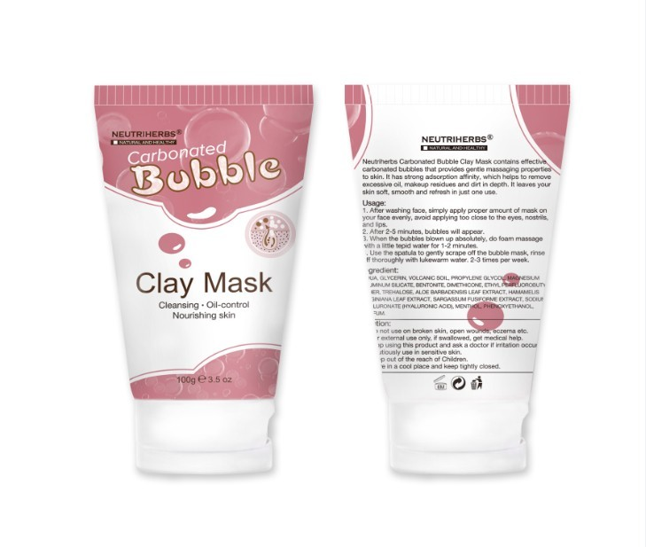 milky piggy carbonated bubble clay mask