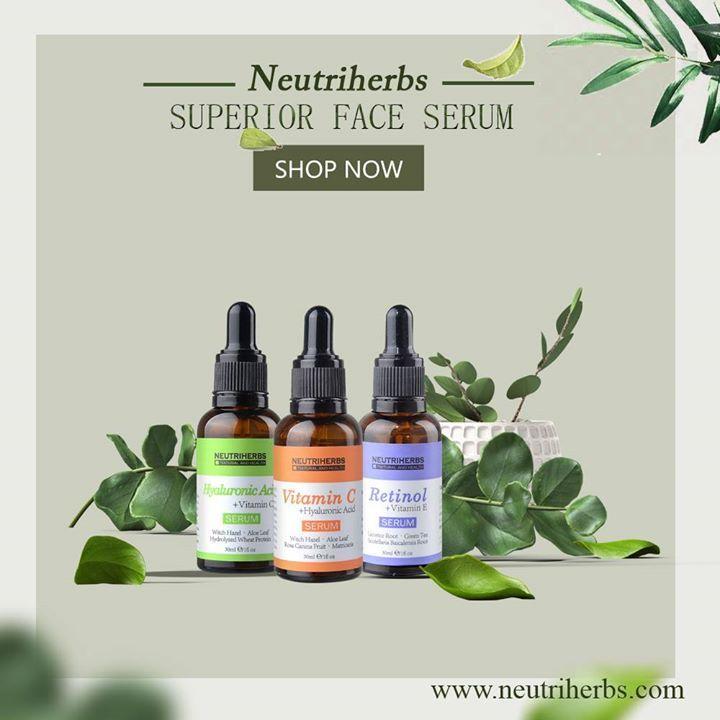 top face serums