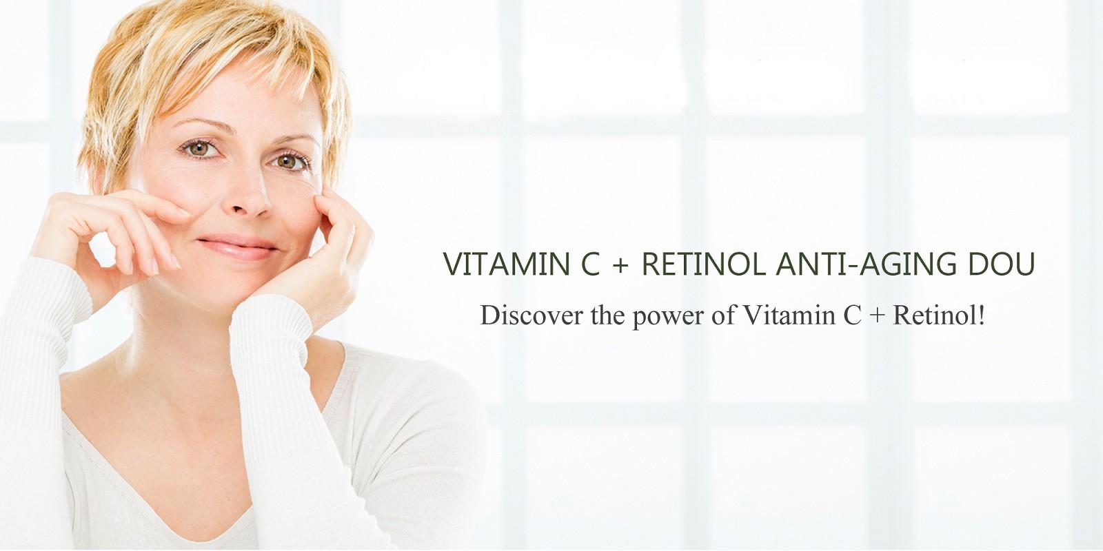 retin a - Vitamin c serum