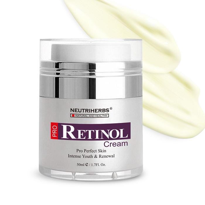 Anti wrinkle retinol cream