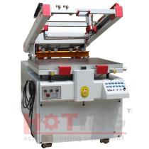Clam shell servo motor semi automatic screen printing machine