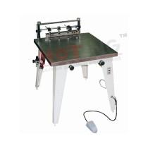 Manual vacuum screen printing machine