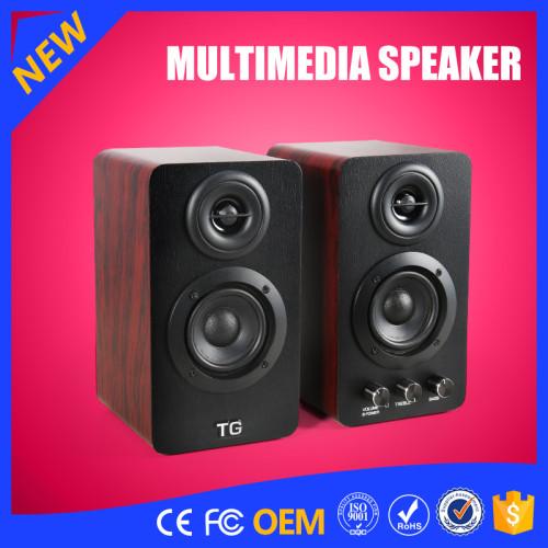 YOMMO 2016 new 2.0 Multimedia speaker system bass speaker V4