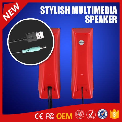 YOMMO 2.0CH Textile Speaker with USB Power Supply
