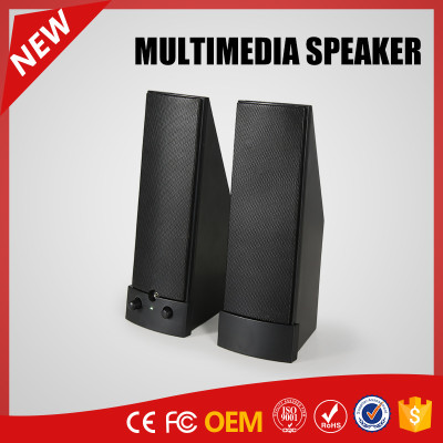 YOMMO 2016 new stylish multimedia 2.0 speaker computer speaker with USB power supply