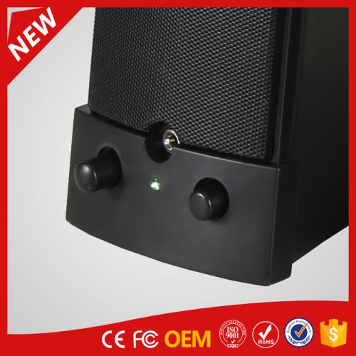 YOMMO 2016 new stylish multimedia 2.0 speaker computer speaker with USB power supply