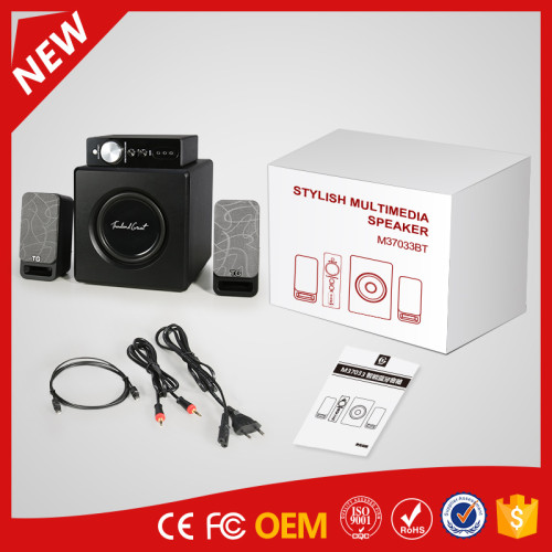 YOMMO 2.1 wireless siuper bass speaker Bluetooth bass speaker system with control box