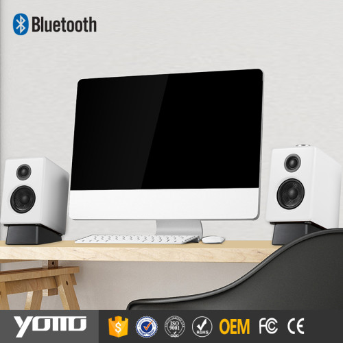 OEM Bluetooth Active Speakers,High Quality Small Bookshelf Speakers Made From YOMMO