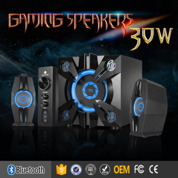 2017 2.1 creative bluetooth big speaker system with 30w
