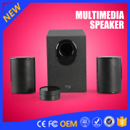 YOMMO 2016 new 2.1 multimedia speaker system active speaker super bass speaker