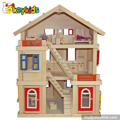 Dreamy kids wooden doll house toy W06A103