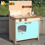 Wooden kitchen toy kids cooking pretend play set W10C176