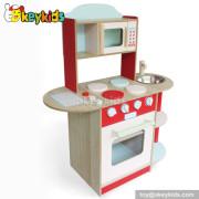 Wooden kitchen toy kids cooking pretend play set W10C178