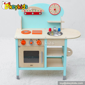 Cook kitchen toy wooden play set W10C209